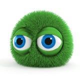 3d funny fluffy creature Stock Photos