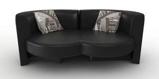 3d furniture detailed Royalty Free Stock Image