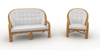 3d furniture detailed Royalty Free Stock Photos