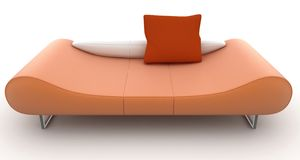 3d furniture detailed Stock Photography