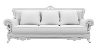 3d furniture sofa Royalty Free Stock Image