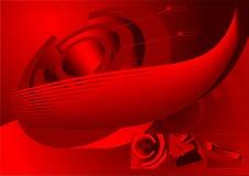 3D futuristische achtergrond Stock Foto's