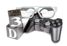 3d gaming Stock Photography