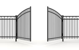3d gate Stock Photography