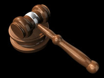 3D Gavel 2 Stock Image