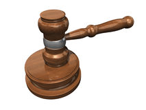 3D Gavel 3 Stock Photos