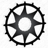 3d gear wheel Stock Image