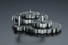 3d gears Royalty Free Stock Photography