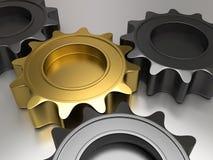 3d gears Stock Photo