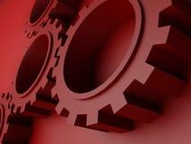 3d gears hög illustrationkvalitet Fotografering för Bildbyråer
