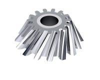 3d gears metall Royaltyfri Fotografi