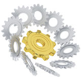 3D gears of success in business Stock Photography