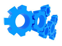 3D gears. Teamwork concept. Stock Photo