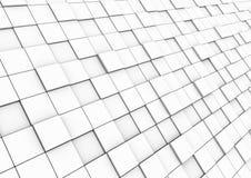 3d gebied van de kubusmuur Royalty-vrije Stock Foto