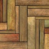 3d geef de houten achtergrond van de houtplank terug Royalty-vrije Stock Fotografie