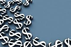 3D geef de Tekens van het Geld terug