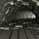 3d geef van een tunnel terug Stock Foto's