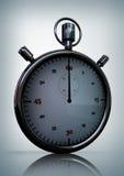 3D geef van Glanzende Heldere Chronometer terug Stock Afbeeldingen