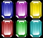 3d Gems Stock Image
