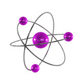 3d generated atom Royalty Free Stock Photography