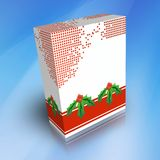 3D Generic Boxes for Christmas Royalty Free Stock Image