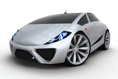3d generic sport car Royalty Free Stock Photo