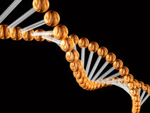 3d genetic code Royalty Free Stock Photo