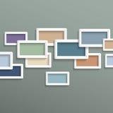 3d geometric background Stock Photo