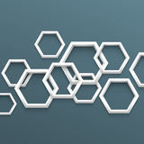 3d geometric background Stock Photo