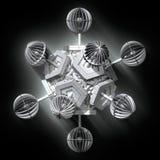 3D Geometric Fractal Stock Photography