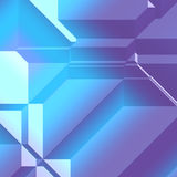 3d Geometric pattern Royalty Free Stock Images