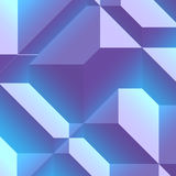 3d Geometric pattern Stock Image