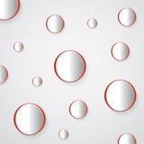 3D Geometrical Design Stock Image
