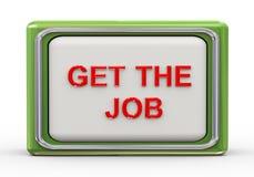 3d get the job Stock Images