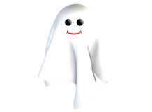 3D Ghost. 3D rendered ghost for Halloween royalty free illustration
