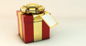 3d gift box Stock Photos