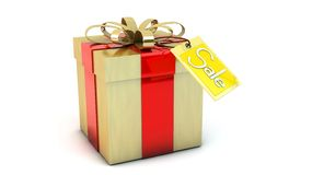 3d gift box Royalty Free Stock Photos