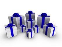 3d gifts Royalty Free Stock Photos