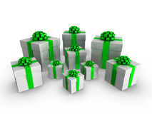 3d gifts Stock Photo