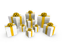 3d gifts Stock Images