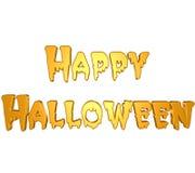 3D glückliches Halloween Lizenzfreie Stockbilder