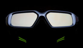 3d glasses Royalty Free Stock Photo