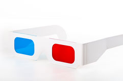 3D glasses Stock Image
