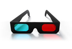 3D Glasses royalty free illustration