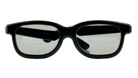 3d glasses Stock Photography