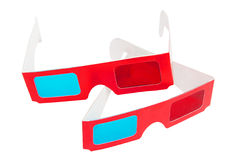 3D glasses Royalty Free Stock Photos