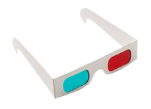 3d glasses. Stock Image