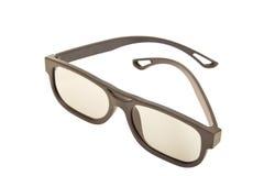 3D glasses. Modern cinema vision Stock Image