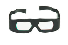 3D Glasses Isolated royalty free stock photography