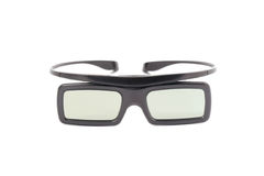 3d glasses on white background Royalty Free Stock Photography